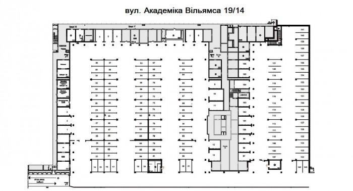 Паркінг вул. Вільямса 19-14