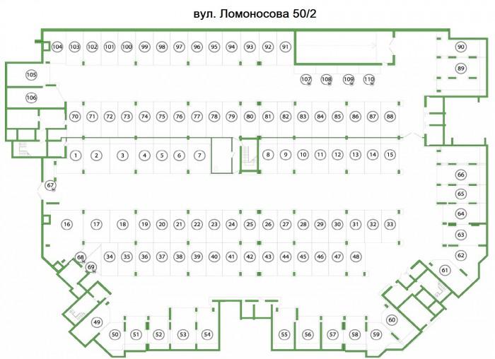 паркінг вул. Ломоносова 50-2